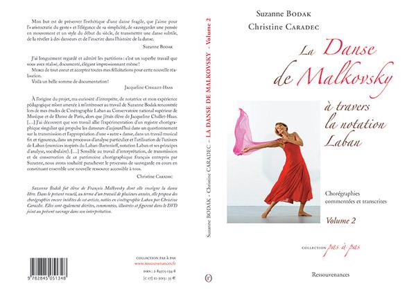 La Danse de Malkovsky à travers la notation Laban – Volume II, par Suzanne Bodak et Christine Caradec