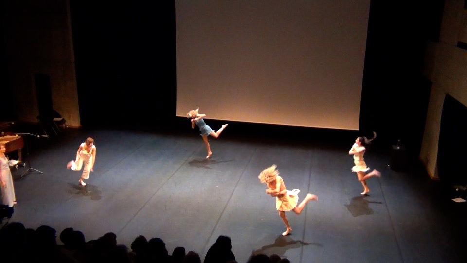 Conférence dansée pour le CND