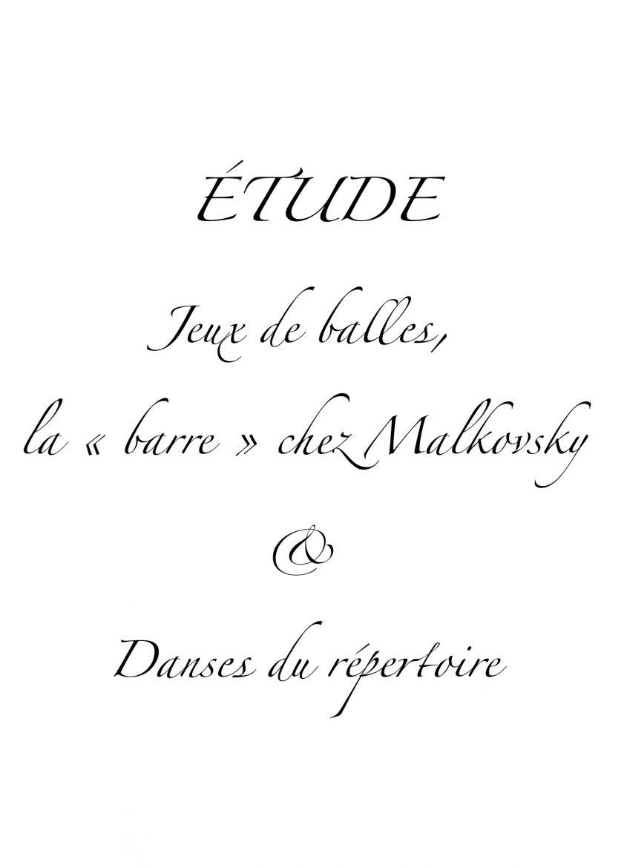 Livre Les Etudes, Suzanne Bodak